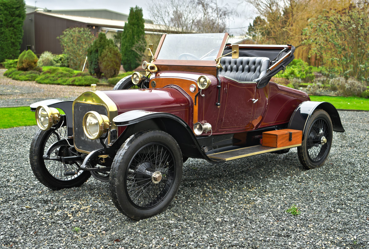 1913 WOLSELEY 24/30HP TWO-SEATER For Sale (picture 1 of 12)