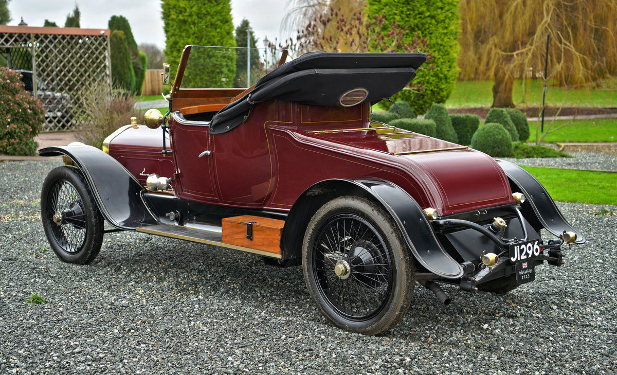 1913 WOLSELEY 24/30HP TWO-SEATER For Sale (picture 2 of 12)