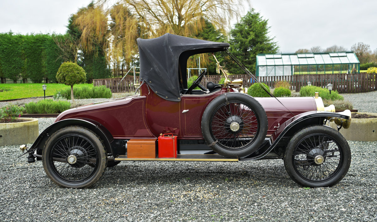 1913 WOLSELEY 24/30HP TWO-SEATER For Sale (picture 3 of 12)