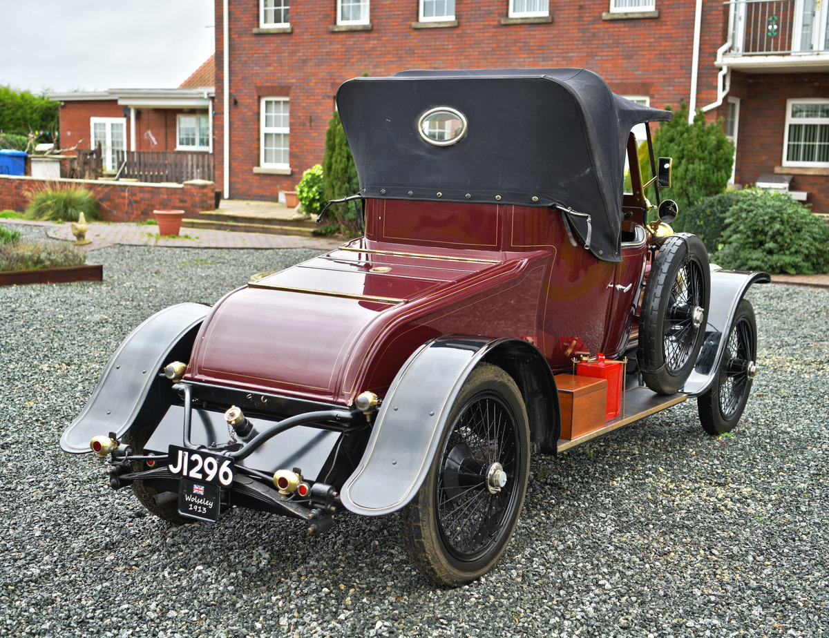 1913 WOLSELEY 24/30HP TWO-SEATER For Sale (picture 5 of 12)