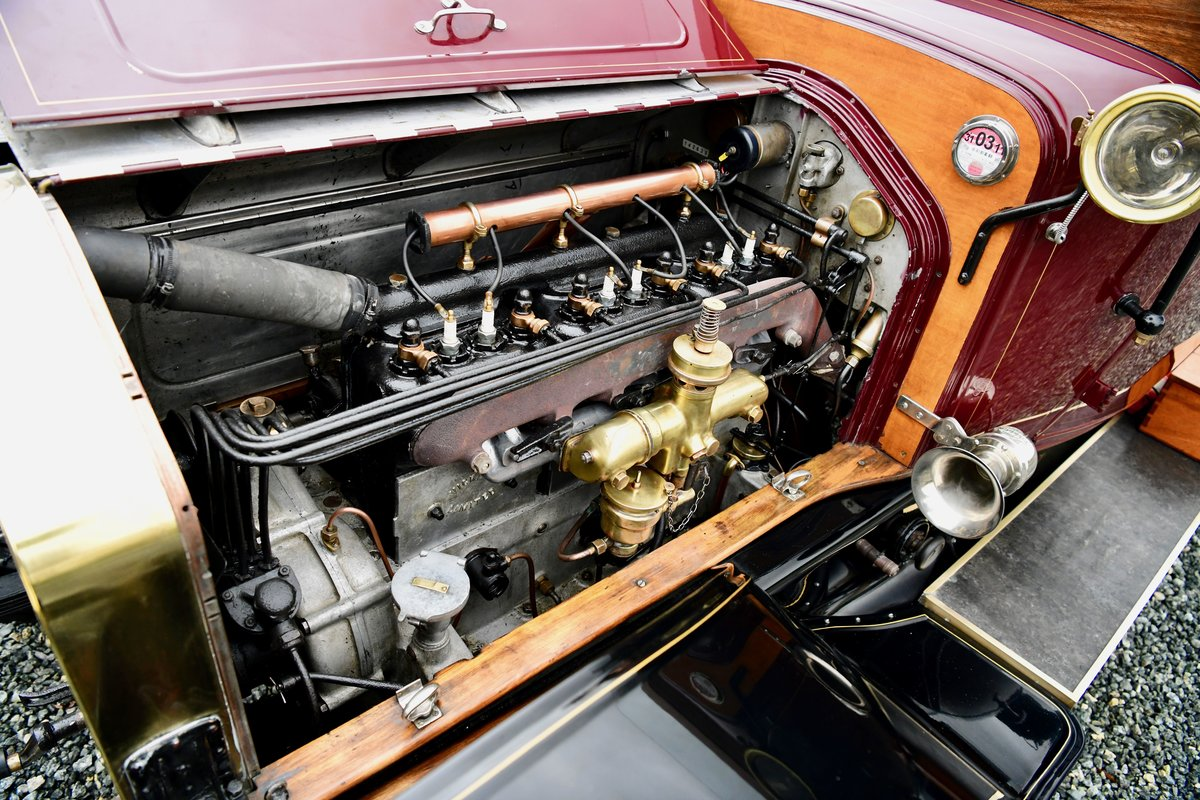 1913 WOLSELEY 24/30HP TWO-SEATER For Sale (picture 10 of 12)
