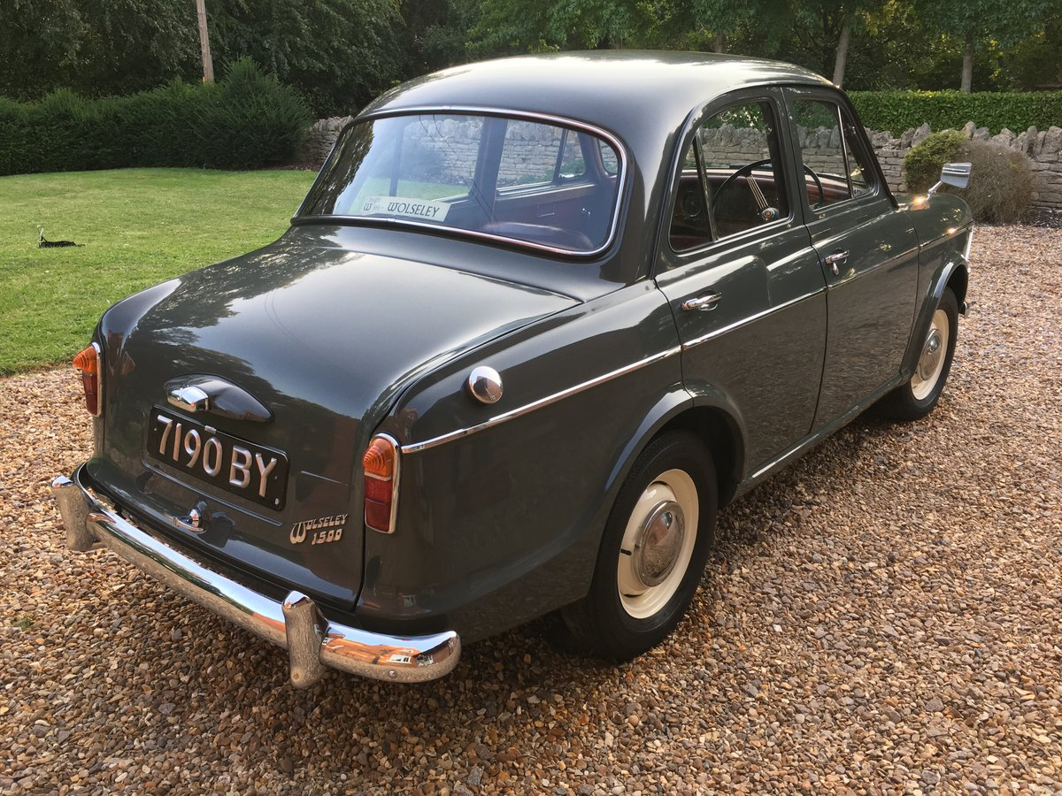 1961 Wolseley 1500  Mk2 For Sale (picture 2 of 12)