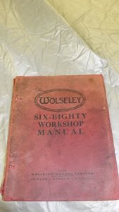 Picture of 0000 WOLSELEY MEMORABILIA FOR SALE  -OFFERS For Sale