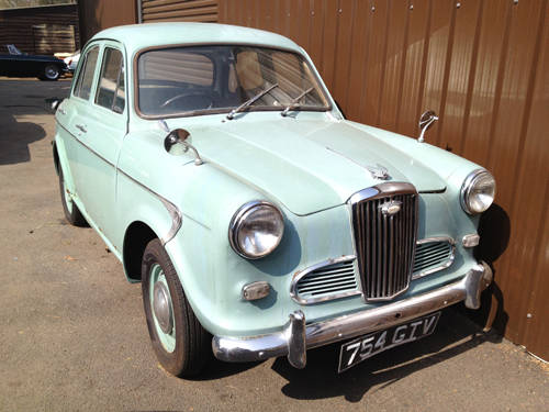 1960 Wolseley 1500 £P.O.A SOLD (picture 1 of 2)