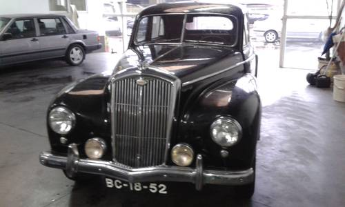 1952 LHD wolseley 6/80 For Sale (picture 1 of 1)