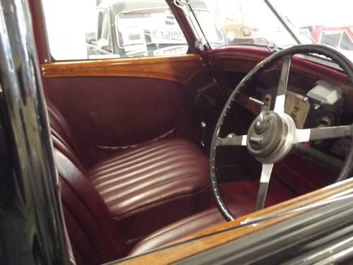 1936 WOLSELEY 21HP TICKFORD DROPHEAD COUPE CONVERTIBLE SOLD (picture 4 of 5)