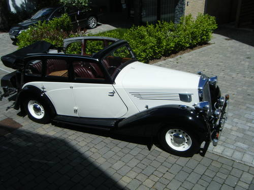 1936 WOLSELEY 21HP TICKFORD DROPHEAD COUPE CONVERTIBLE SOLD (picture 1 of 5)
