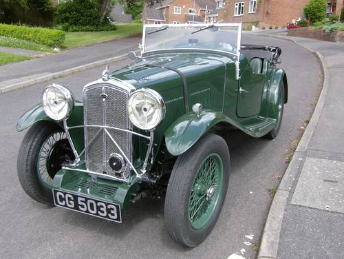 1933 Wolseley Hornet Special for sale in Hampshire... SOLD (picture 1 of 6)