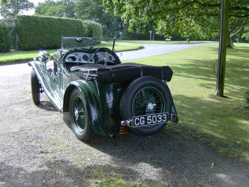 1933 Wolseley Hornet Special for sale in Hampshire... SOLD (picture 2 of 6)