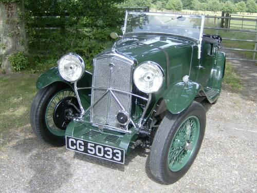 1933 Wolseley Hornet Special for sale in Hampshire... SOLD (picture 5 of 6)