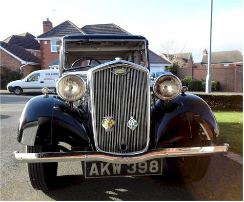 1936 WOLSELEY WASP (Blossom) SOLD (picture 1 of 6)