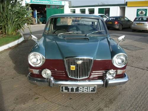 1967 Wolseley 18/85 Big, comfortable & power steering! SOLD (picture 1 of 6)