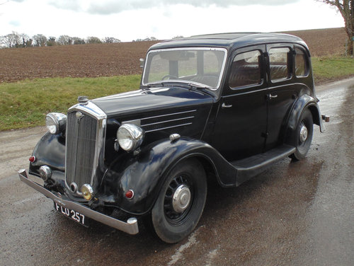1939 Wolseley 12/48 SOLD (picture 1 of 6)