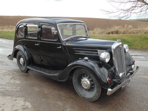 1939 Wolseley 12/48 SOLD (picture 2 of 6)