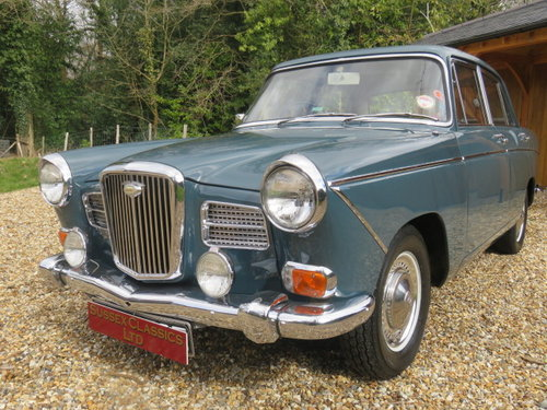 1967 Wolseley 16/60 Saloon (Only 63000 Miles From New) SOLD (picture 1 of 6)