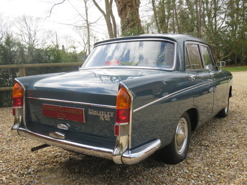 1967 Wolseley 16/60 Saloon (Only 63000 Miles From New) SOLD (picture 2 of 6)