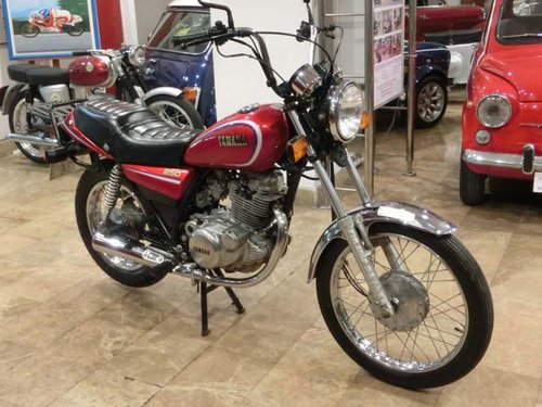 YAMAHA SR 250 - 1984 For Sale (picture 1 of 6)
