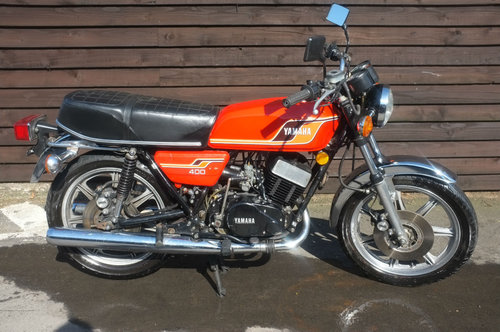 Yamaha RD400 RD 400 C 1977 Chappy Red Fantastic Standard Con