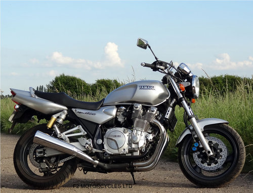 2001 Yamaha XJR1300 Totally Original, v.low mileage, A1 condition SOLD (picture 1 of 6)