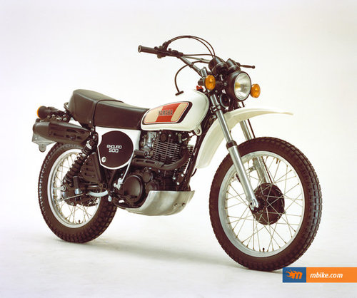 1977 YAMAHA XT500 D ENDURO FOUR STROKE TRAIL BIKE SOLD (picture 1 of 6)