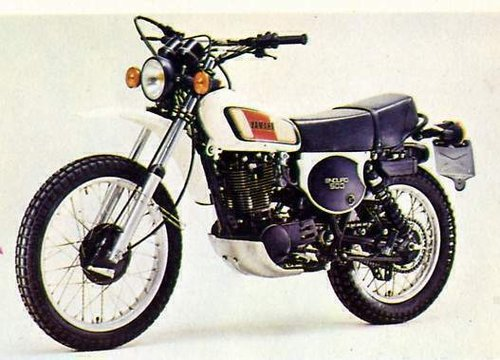 1977 YAMAHA XT500 D ENDURO FOUR STROKE TRAIL BIKE SOLD (picture 2 of 6)