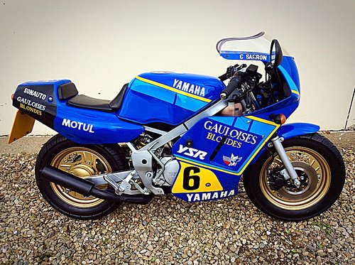 1987 YAMAHA YSR 50 - 300 MILES FROM NEW 2 OWNERS UK NEW SUPERB SOLD (picture 2 of 6)