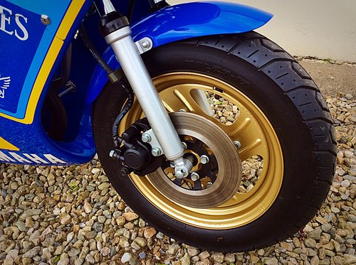 1987 YAMAHA YSR 50 - 300 MILES FROM NEW 2 OWNERS UK NEW SUPERB SOLD (picture 5 of 6)
