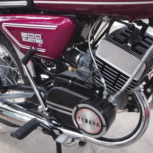 1972 CS5 200 Electric, Concours. SOLD TO IAN. SOLD (picture 2 of 6)