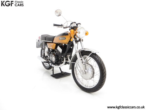 1972 A Very Rare Matching Numbers UK Yamaha 250 Street DS7 SOLD (picture 1 of 6)