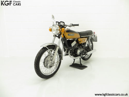 1972 A Very Rare Matching Numbers UK Yamaha 250 Street DS7 SOLD (picture 2 of 6)