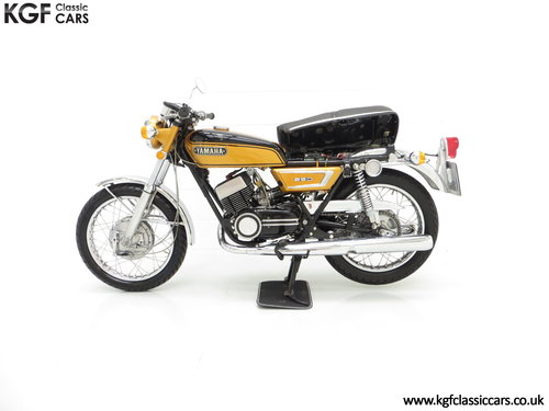 1972 A Very Rare Matching Numbers UK Yamaha 250 Street DS7 SOLD (picture 3 of 6)