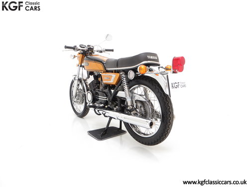 1972 A Very Rare Matching Numbers UK Yamaha 250 Street DS7 SOLD