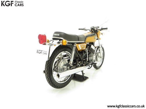 1972 A Very Rare Matching Numbers UK Yamaha 250 Street DS7 SOLD (picture 5 of 6)