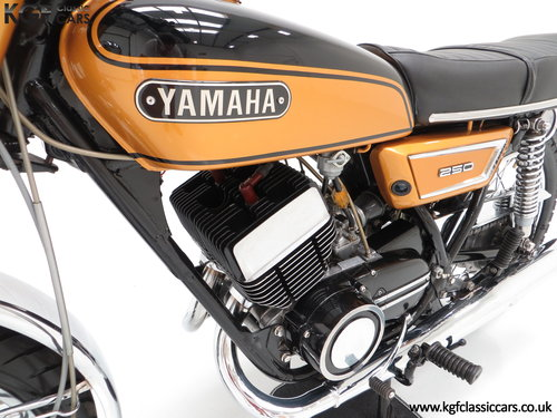 1972 A Very Rare Matching Numbers UK Yamaha 250 Street DS7 SOLD (picture 6 of 6)
