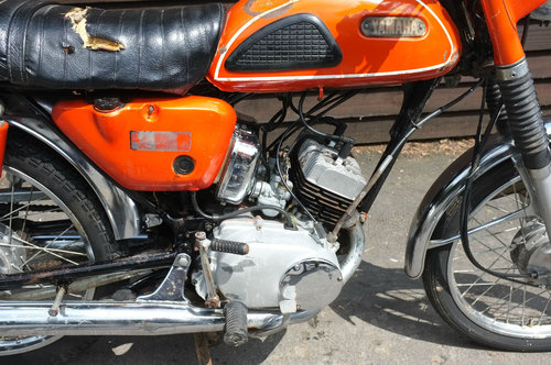 Yamaha HS1 H S 1 A 90cc twin 1970 BARN FIND Rarer than Rare! SOLD (picture 3 of 6)