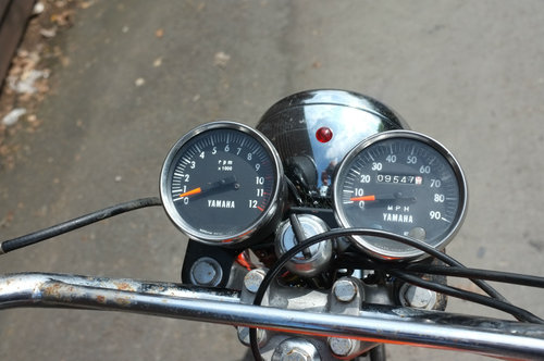 Yamaha HS1 H S 1 A 90cc twin 1970 BARN FIND Rarer than Rare! SOLD (picture 5 of 6)