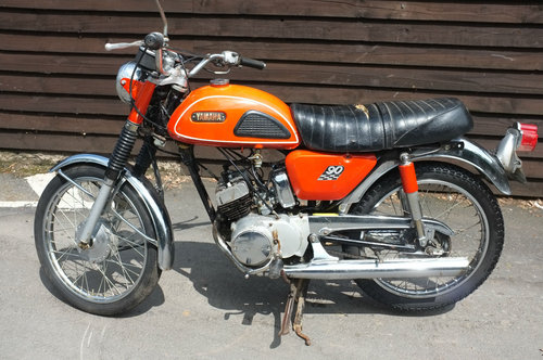 Yamaha HS1 H S 1 A 90cc twin 1970 BARN FIND Rarer than Rare! SOLD (picture 6 of 6)