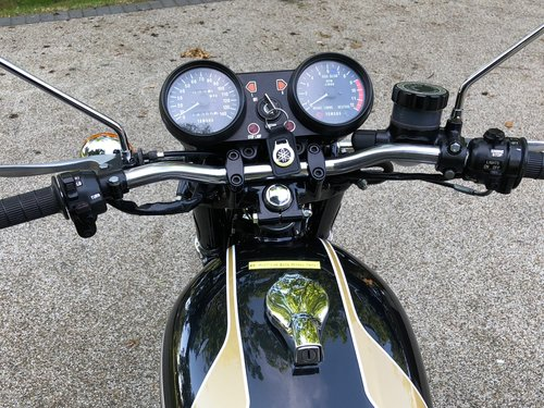 1975 XS500B UK low mileage history SOLD (picture 5 of 6)