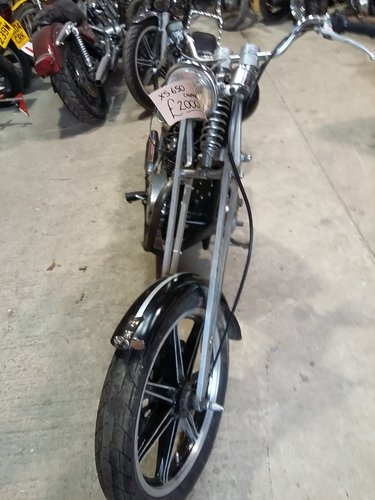 1977 Yamaha XS650 Chopper For Sale (picture 4 of 4)
