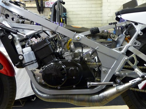 1980 Spondon Yamaha TZ350G Classic Racing Motorcycle SOLD (picture 5 of 6)