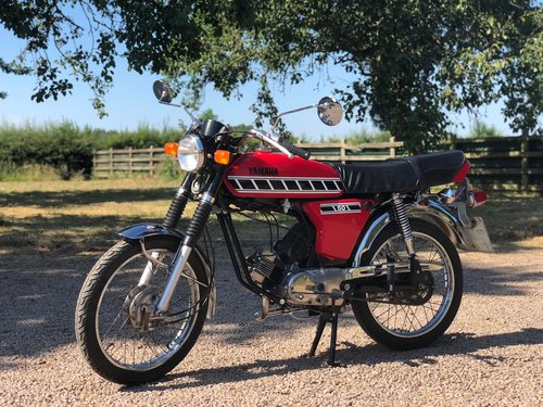 Yamaha FS1 49cc Registered 1988, Matching Numbers  SOLD (picture 1 of 6)