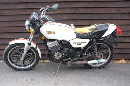 Yamaha RD400 RD 400 F Daytona Special 1979 Barn Find Restora For