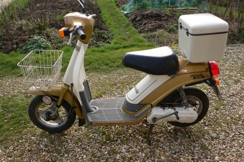 1985 YAMAHA PASSOLA SCOOTER ELECTRIC SOLD (picture 1 of 6)