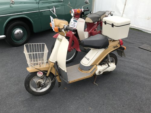 1985 YAMAHA PASSOLA SCOOTER ELECTRIC SOLD (picture 3 of 6)