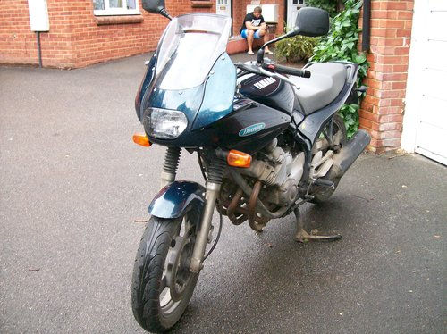1993 YAMAHA XJ600S DIVERSION SOLD (picture 1 of 6)