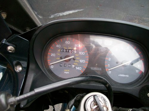 1993 YAMAHA XJ600S DIVERSION SOLD (picture 3 of 6)