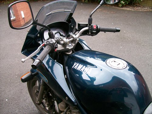 1993 YAMAHA XJ600S DIVERSION SOLD (picture 4 of 6)