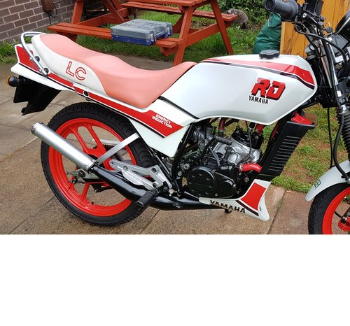1986 rd 125 lc  For Sale (picture 1 of 3)