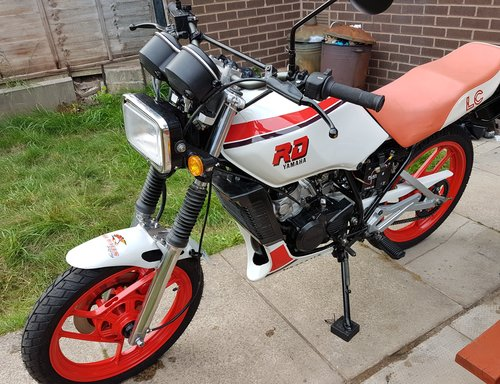 1986 rd 125 lc  For Sale (picture 2 of 3)