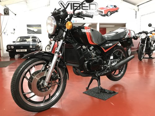 1982 Yamaha RD350 LC -UK 4L0 - SOLD SIMILAR CLASSICS REQUIRED For Sale (picture 1 of 6)